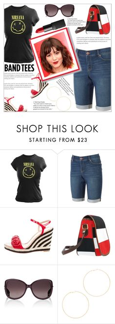 """""""She Is Very Cool"""" by atelier-briella ❤ liked on Polyvore featuring Juicy Couture, Kate Spade, Christian Dior, Kenneth Jay Lane, NARS Cosmetics, bandtees and saddlebag"""