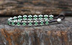 Elfin Green Silver Bracelet