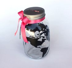 Globe Bank World Travels Fund Vacation Savings by MyKindofKrafty, $20.00