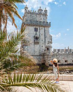 Torre De Belem, Lisboa, Portugal Portugal Travel, Lisbon Portugal, Portugal Trip, European Vacation, Find Hotels, Photoshoot Inspiration, Wanderlust, Travel Inspiration, Instagram