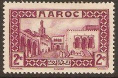 French Morocco 1933 2c Magenta. SG170.