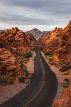 """jeremylfisher: """"Spring sunrise at Valley of Fire, NV """" City Landscape, Landscape Photos, Landscape Photography, Places Around The World, Travel Around The World, Around The Worlds, Beautiful Roads, Beautiful Places, Route 66 Road Trip"""
