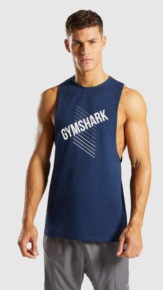 a71a956ac3045 Gymshark Score Tank - Sapphire Blue