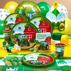 Johnny Tractor Party Supplies