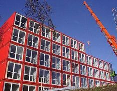 Student Housing in Amsterdam - Shipping Container Homes - Cargo Container Houses - The Daily Green