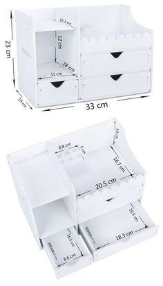 Alajero – Phone wallpaper - New Sites Cardboard Organizer, Cardboard Storage, Cardboard Crafts, Craft Storage, Paper Crafts, Desk Organization Diy, Diy Desk, Diy Cardboard Furniture, Diy Furniture
