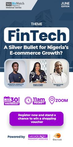 BizWatch Nigeria, Nigeria's foremost portal for news and business intelligence, is set to host over 200 business leaders, chief executives, IT managers, tech experts and thought leaders to the second edition of its webinar series. The event, which is scheduled for Wednesday, June 30, 2021, seeks to explore valuable insights on the challenges facing the…