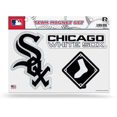 MLB Chicago White Sox Bling Team Magnet Set with Team Logos