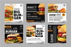Food Graphic Design, Food Poster Design, Web Design, Food Design, Monster Pizza, Burger Cartoon, Pizza Menu, Snack Recipes, Snacks