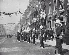 Queen Victoria's visit to Dublin in 1900.