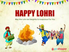 YooShopper wishes you all a Very Happy ‪#‎Lohri‬...May the beauty of Lohri Festival fill your home with Happiness..