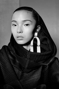 "Vogue China, Feb 2017 ""New Age Traveler"" Photo: Richard Burbridge Model. Xiao Wen Ju Stylist: Brian Molloy"