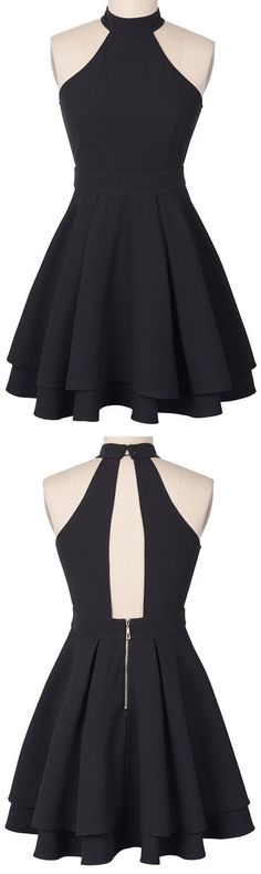 homecoming dresses,short prom dresses,party dresses · bbhomecoming · Online Store Powered by Storenvy Dresses Short, Trendy Dresses, Cute Dresses, Beautiful Dresses, Party Dresses, Fashion Dresses, Dress Party, Black Dress Outfit Party, Dresses Dresses