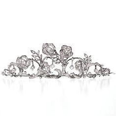 MIKIMOTO Diamond Tiara