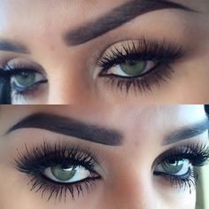 Make up / lashes / pop / eyes Gorgeous Makeup, Pretty Makeup, Love Makeup, Makeup Inspo, Makeup Inspiration, Gorgeous Eyes, Amazing Eyes, Perfect Eyes, Perfect Eyebrows