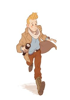 Tintin by coryosterberg on DeviantArt