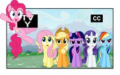 Pinky breaks the fourth wall... Just another day in Ponyville.