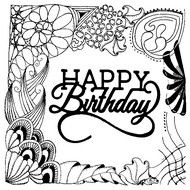 Free Printable Happy Birthday Coloring Pages For Kids ...