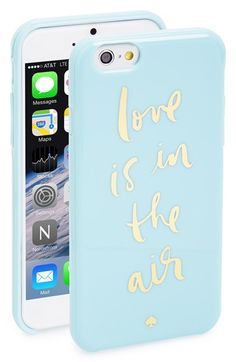 kate spade new york 'love is in the air' iPhone 6 case available at #Nordstrom