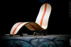 skate chair - LASBLEIZ design / photo : Julien Boulanger