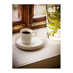 IKEA STOCKHOLM plate Perfect for small dishes or as a saucer for an espresso cup.