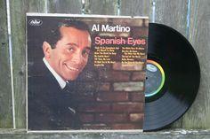 Al Martino Spanish Eyes Record Album Vinyl by JoyousVintage, $7.00