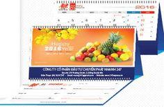 Lịch Để Bàn Chữ M 2016 với chủ đề Hoa Trái Bốn Mùa là một loạt các hình ảnh của các loại trái cây quen thuộc với mọi người. Thiết kế nhỏ gọn tiện lợi phù hợp với mọi không gian.