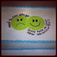 Going Away Cake - - Yahoo Image Search Results Retirement Party Decorations, Retirement Cakes, Retirement Parties, Going Away Cakes, Going Away Gifts, Goodbye Cake, Goodbye Party, Farewell Cake, Farewell Gifts