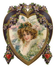 Beautiful vintage Valentine