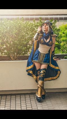 Ashe | League of Legends - cosplay  by Riki