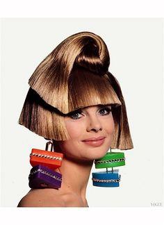 Jean Shrimpton Vogue June 1966   © Pleasurephoto