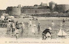 Saint Malo, 1900
