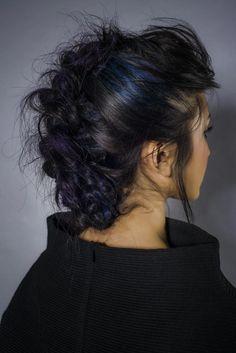 www.estetica.it |  Credits Hair: Sally Montague Hair Group Art Team Styling: Emmanuelle Montague-Sayers Make up: Sally Montague Hair Group Make up Artist Photo: Ewan Mathers