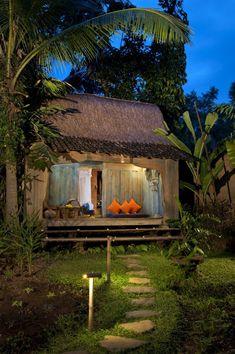 Kuda House at Bambu Indah, an eco-luxury boutique hotel in Ubud, Bali
