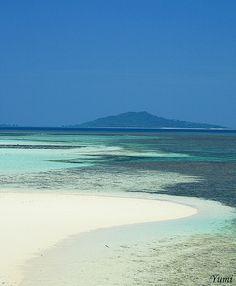 blue and white--Miyako Island