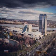#Донецк. Виктория. Это вид с крыши Центавр Плаза2