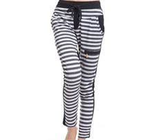 You Looking are in Black and White Striped Relaxed leggings place bulk order or notify via mail from one of the Best quality in USA, Australia and Canada manufacturers and suppliers....