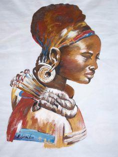 paitint on textile Textiles, Statue, Painting, Art, Art Background, Painting Art, Kunst, Paintings, Performing Arts