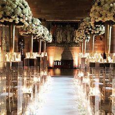 A Fairytale Castle Wedding @peckfortoncastle @redfloral #avalancherose #meijerroses