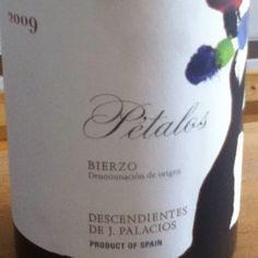 Petalos 2009. Mencia. Bierzo DO Spanish #wine €15.50