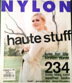 November 2001 cover with nineteen-year-old Kirsten Dunst