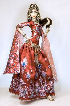 Dunyazade - Enchanted Doll by Marina Bychkova. These are the most detailed and amazing dolls I've ever seen.