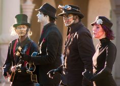 Steam Powered Giraffe when they had the female robot.
