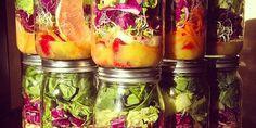 Frischer Salat aus dem Glas - Rezeptideen für die ganze Woche
