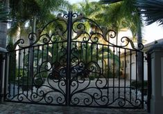 Cast iron is highly resistant to corrosion, which makes it ideal for fences and gates. Steel, aluminum and fabricated iron gates and fences cannot compare to the durability, affordable prices and variety of magnificent designs of cast iron fences and gates.