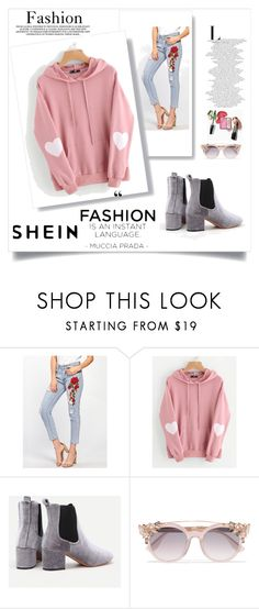 """""""Shein 6"""" by zerina913 ❤ liked on Polyvore featuring Jimmy Choo and shein"""