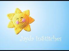 Amigurumi Sunshine! - Crochet Tutorial - YouTube.  She is a little bit crazy but I like that!