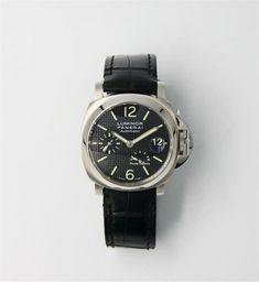 9d2f92dcb78c7d PANERAI - 2011 Pam 0241 Luminor Montre bracelet pour homme, boîtier en  acier, cadran