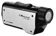 Love It! Midland XTC280VP1080p HD Wearable Action Camera with Image Stabilization, Submersible Case and Universal Mount (Black/Silver)