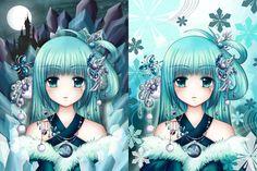 Night Winter Goddess